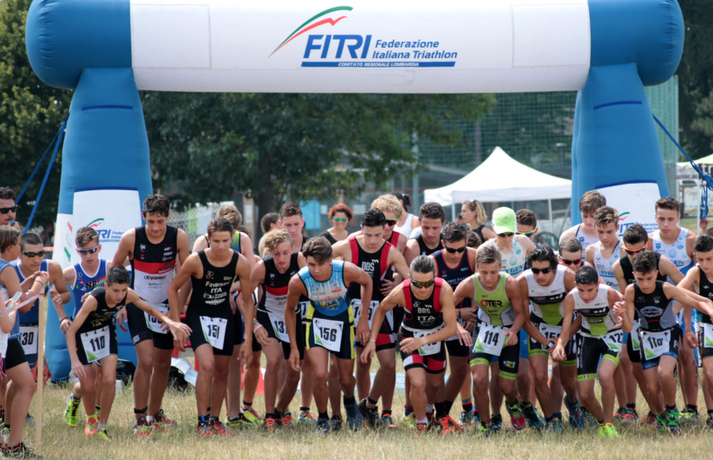 GARA TRIATHLON KIDS ISPRA