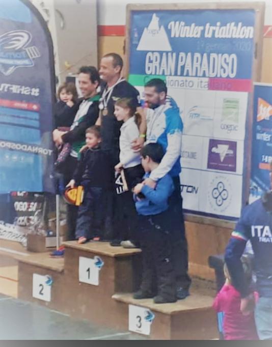 Winter Tri: Matteo Panzi sul podio ai tricolori