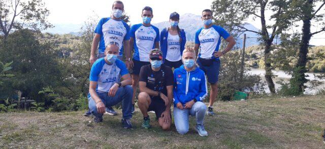 Triathlon di Baldassarre pieno di bolle Oxygen